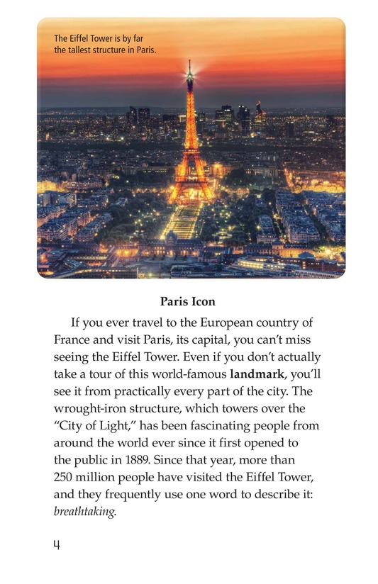 Book Preview For Eiffel Tower Page 4