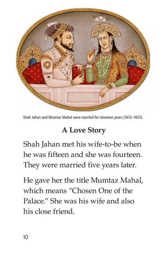 Book Preview For Taj Mahal Page 10