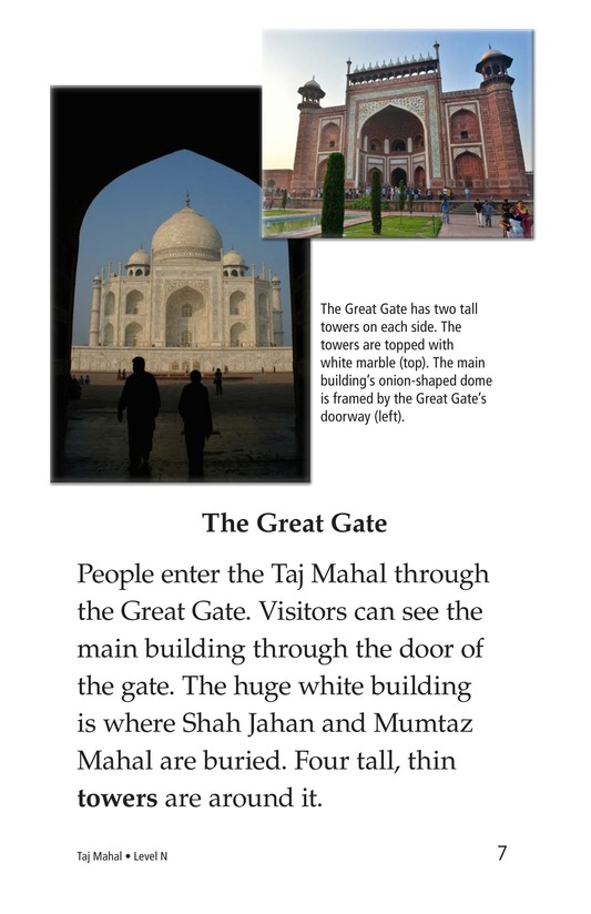 Book Preview For Taj Mahal Page 7