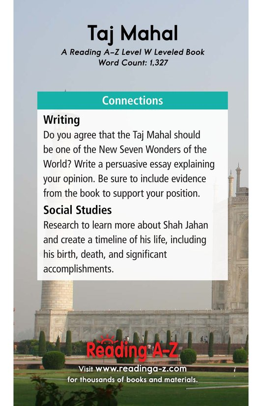 Book Preview For Taj Mahal Page 17