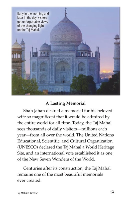 Book Preview For Taj Mahal Page 19