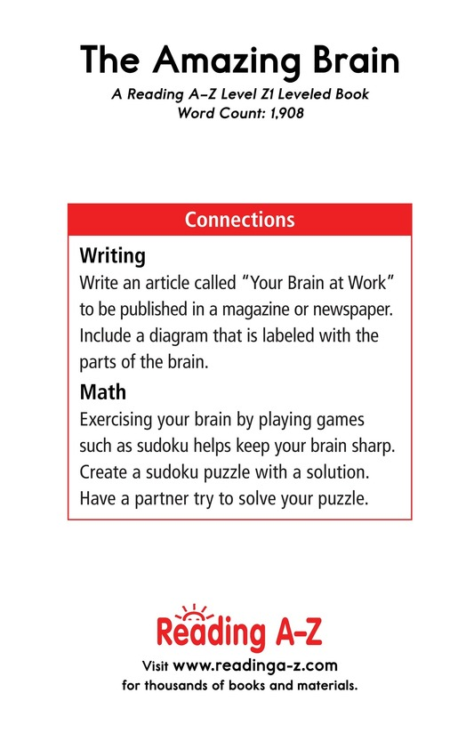 Book Preview For The Amazing Brain Page 21