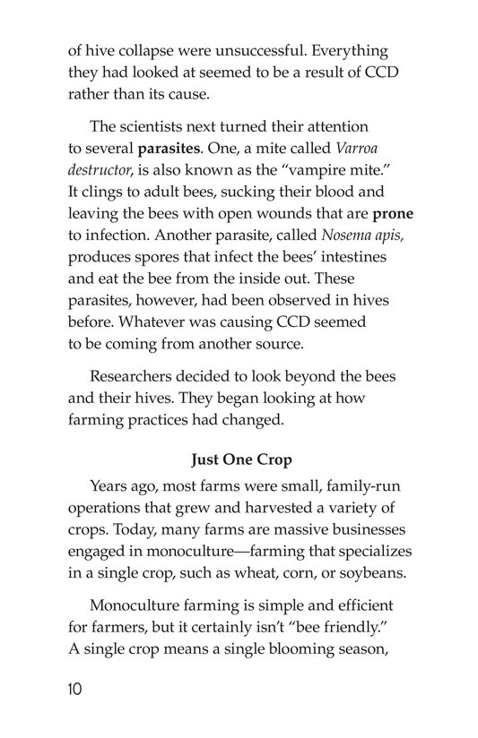Book Preview For The Case of the Disappearing Honeybees Page 10