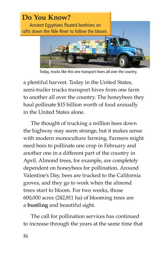 Book Preview For The Case of the Disappearing Honeybees Page 14