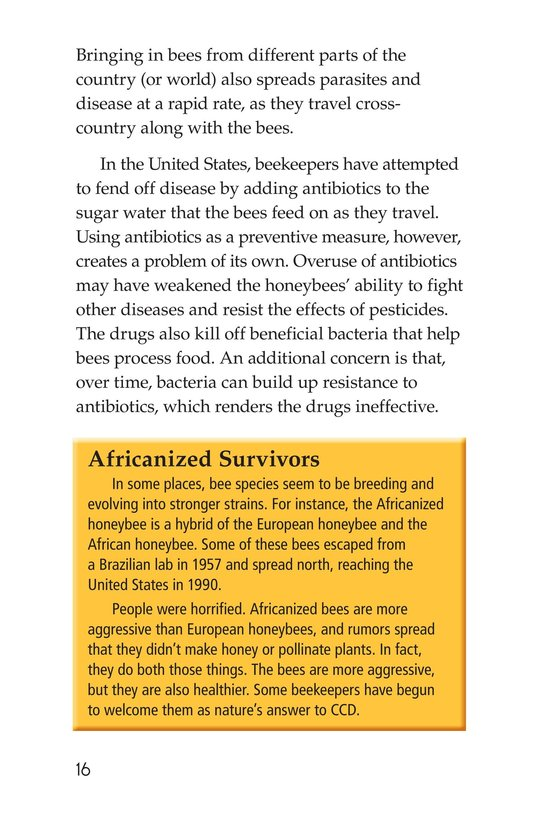 Book Preview For The Case of the Disappearing Honeybees Page 16