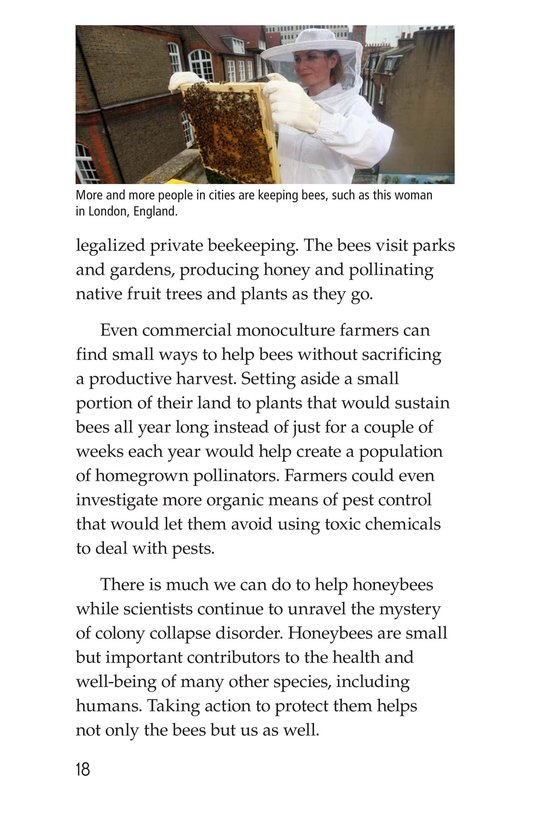Book Preview For The Case of the Disappearing Honeybees Page 18