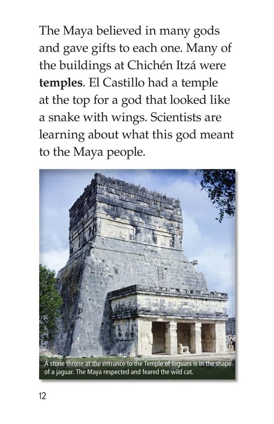 Book Preview For Chichén Itzá Page 12