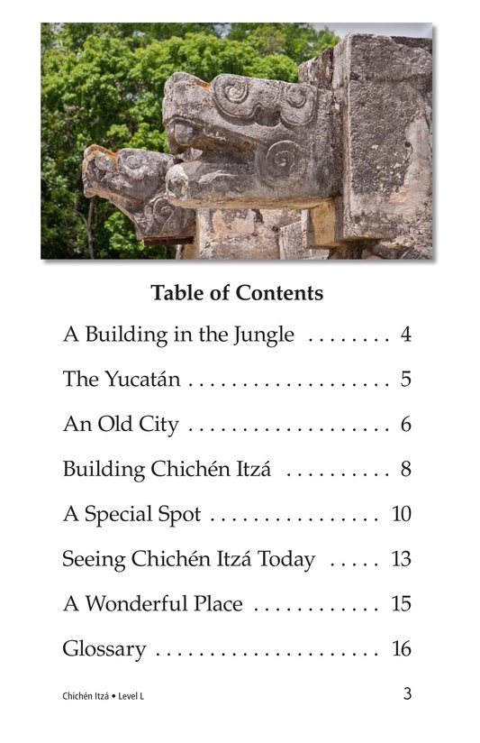 Book Preview For Chichén Itzá Page 3