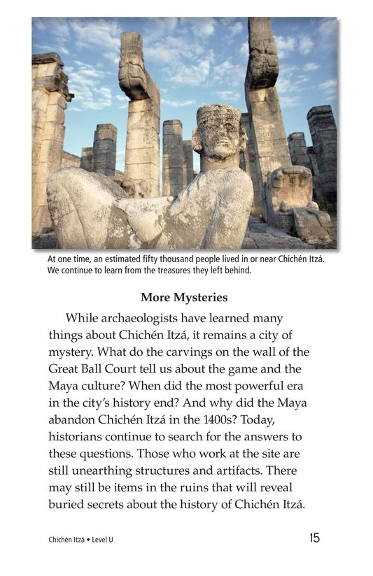 Book Preview For Chichén Itzá Page 15