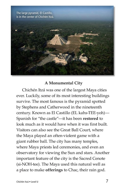 Book Preview For Chichén Itzá Page 7