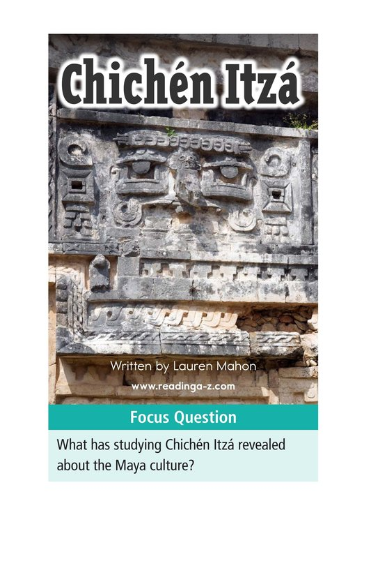Book Preview For Chichén Itzá Page 1