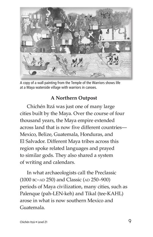 Book Preview For Chichén Itzá Page 9