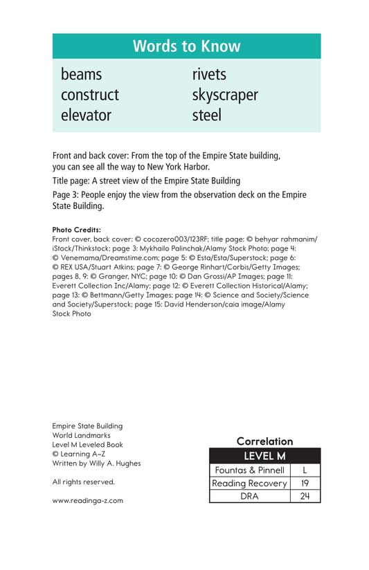 Book Preview For Empire State Building Page 2