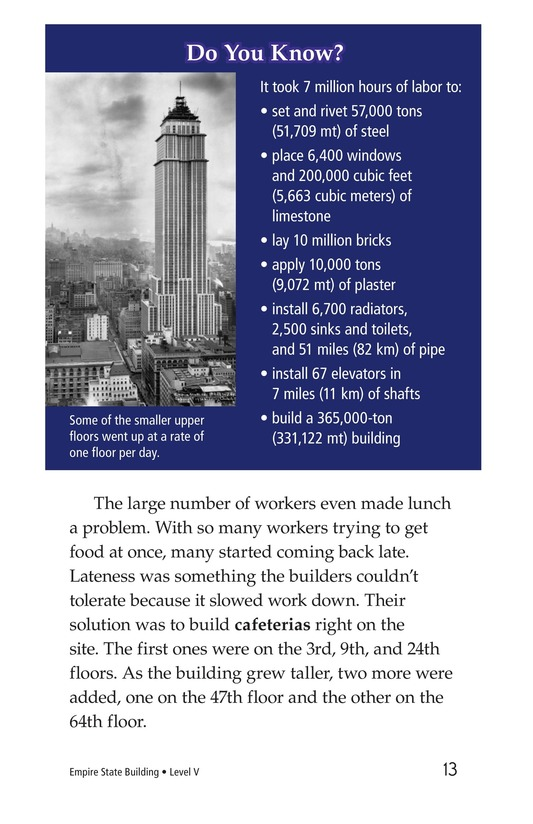 Book Preview For Empire State Building Page 13