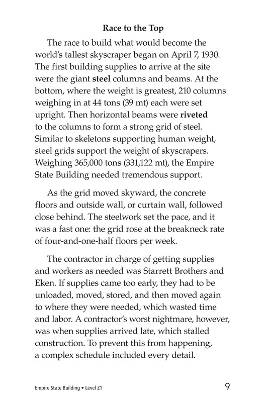 Book Preview For Empire State Building Page 9