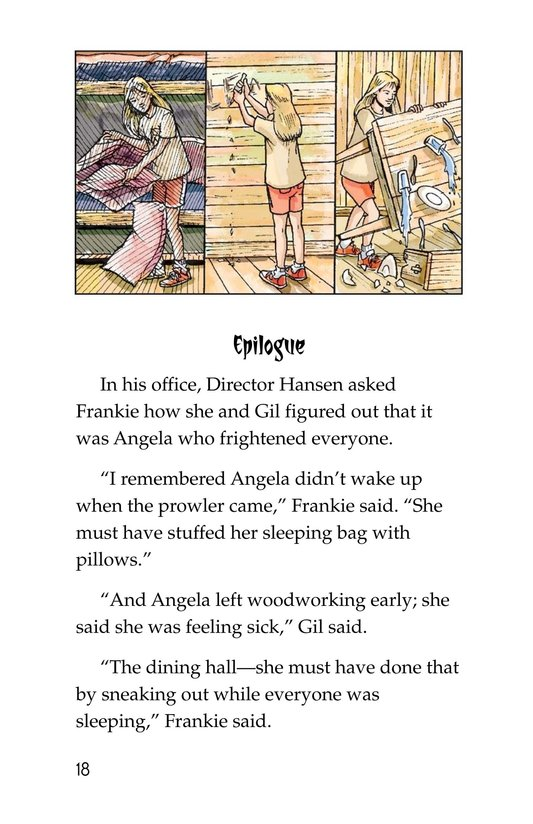 Book Preview For Mystery at Camp White Cloud Page 18