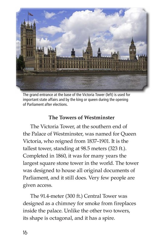 Book Preview For Big Ben and Westminster Palace Page 16