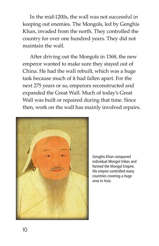 Book Preview For The Great Wall of China Page 10