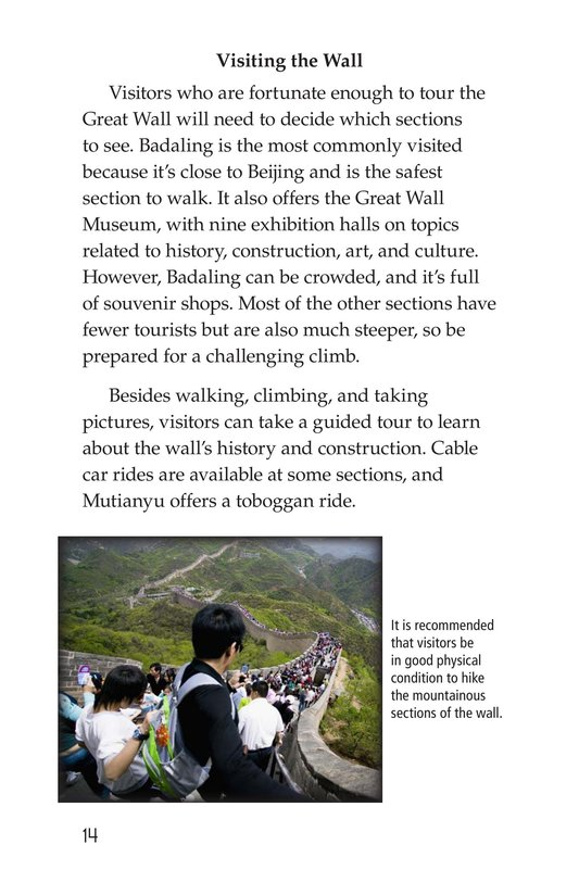 Book Preview For The Great Wall of China Page 14
