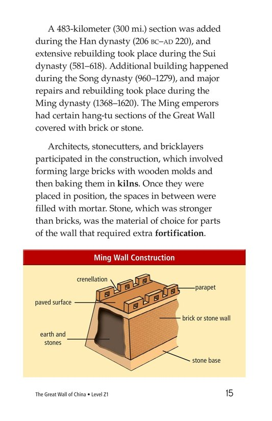 Book Preview For The Great Wall of China Page 15