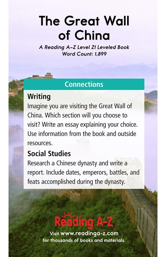 Book Preview For The Great Wall of China Page 21