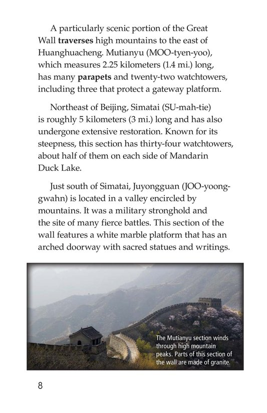 Book Preview For The Great Wall of China Page 8