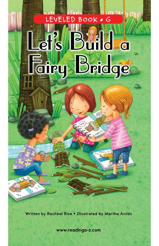 Book Preview For Let's Build a Fairy Bridge Page 0
