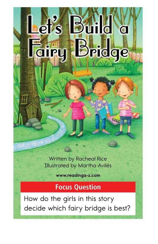 Book Preview For Let's Build a Fairy Bridge Page 1