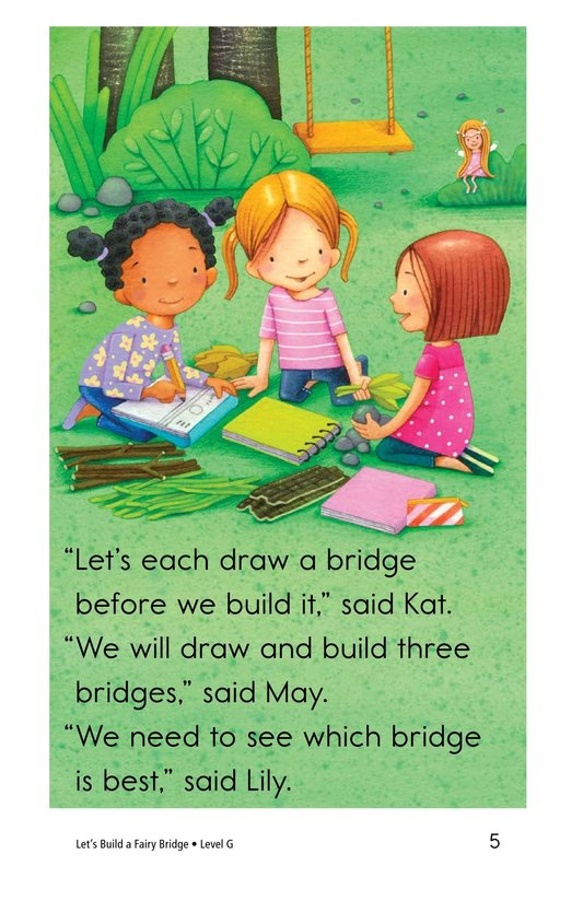 Book Preview For Let's Build a Fairy Bridge Page 5
