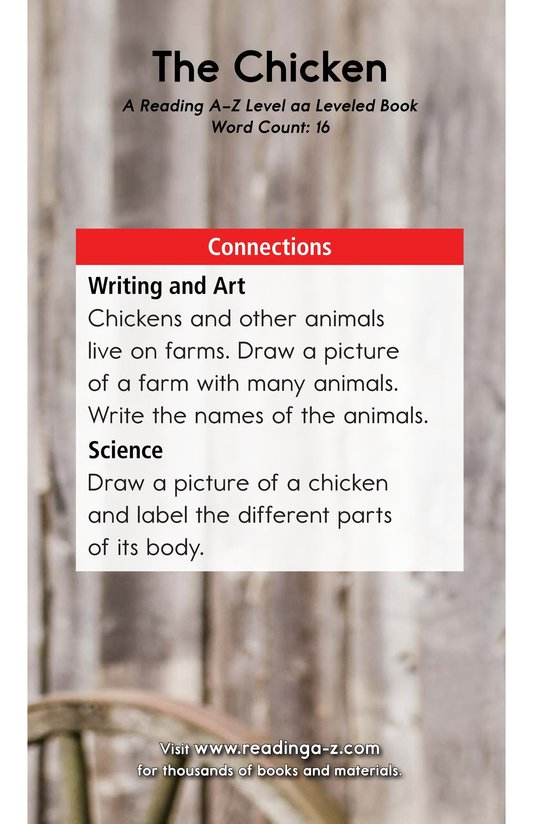 Book Preview For The Chicken Page 11