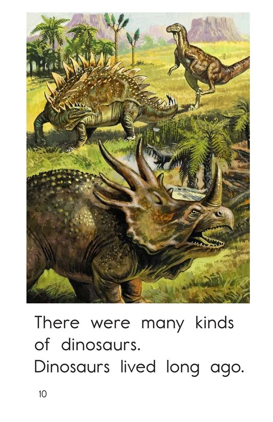 Book Preview For Many Kinds of Dinosaurs Page 10