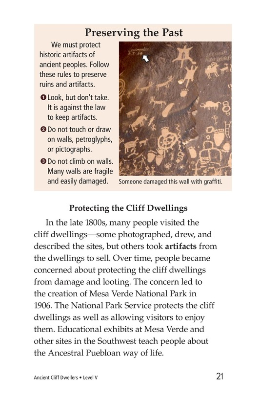 Book Preview For Ancient Cliff Dwellers Page 21