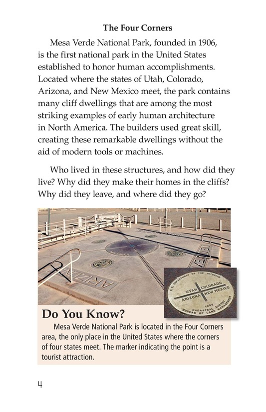 Book Preview For Ancient Cliff Dwellers Page 4