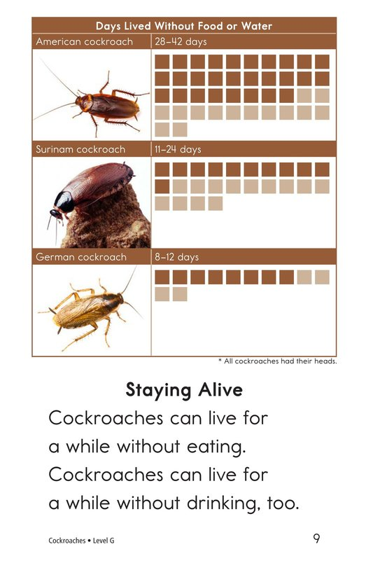 Book Preview For Cockroaches Page 9