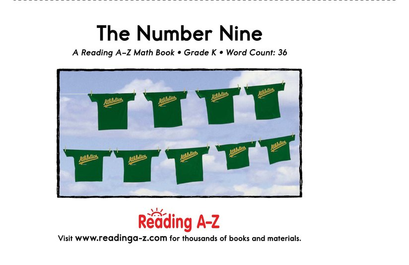 Book Preview For The Number Nine Page 9
