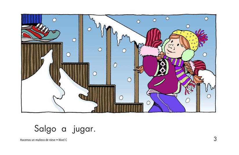 Book Preview For We Make a Snowman Page 3