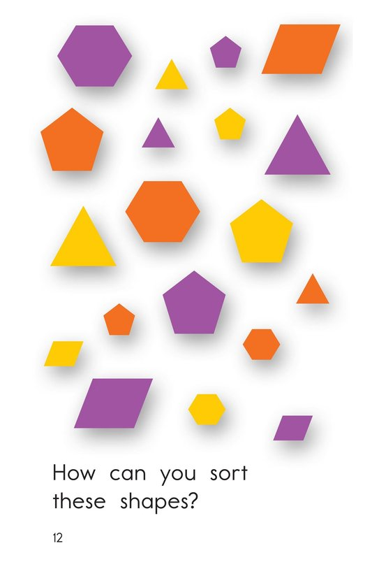 Book Preview For Let's Sort Shapes Page 12