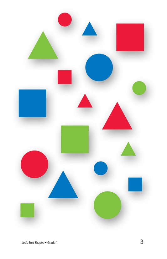 Book Preview For Let's Sort Shapes Page 3