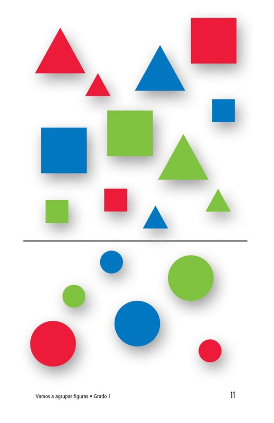 Book Preview For Let's Sort Shapes Page 11