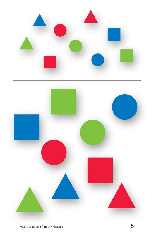 Book Preview For Let's Sort Shapes Page 5