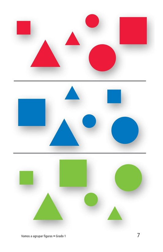 Book Preview For Let's Sort Shapes Page 7