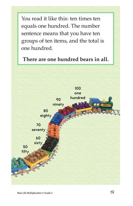 Book Preview For Real-Life Multiplication Page 19