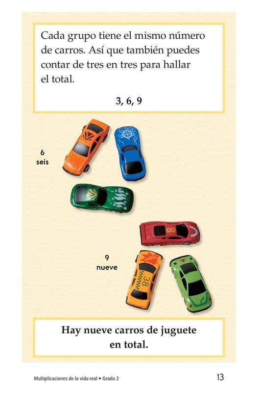 Book Preview For Real-Life Multiplication Page 13