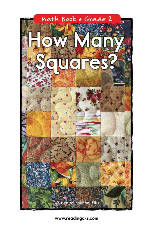Book Preview For How Many Squares? Page 0