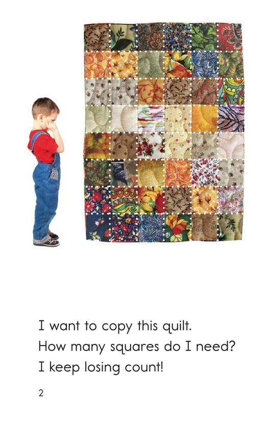 Book Preview For How Many Squares? Page 2