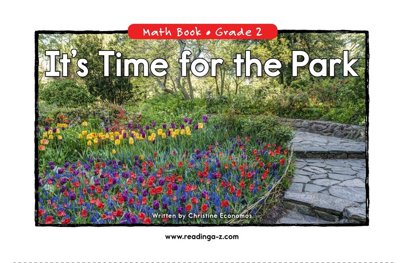 Book Preview For It's Time for the Park Page 0