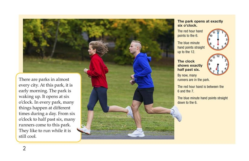 Book Preview For It's Time for the Park Page 2
