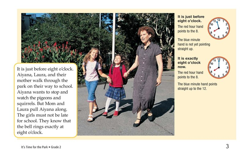 Book Preview For It's Time for the Park Page 3