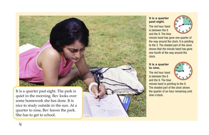 Book Preview For It's Time for the Park Page 4