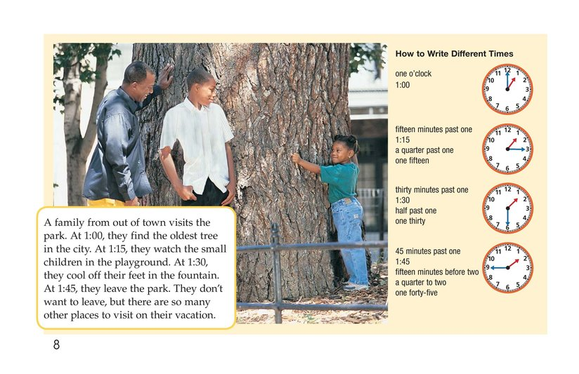 Book Preview For It's Time for the Park Page 8